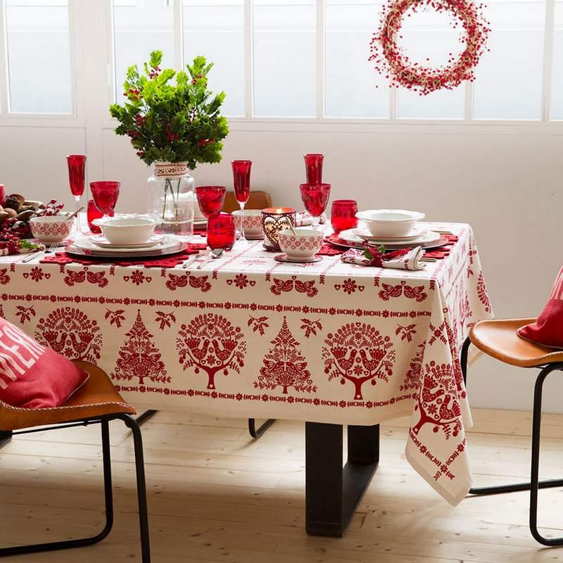 Preparar la mesa para la navidad aquelles petites coses bcn - Preparar mesa navidad ...