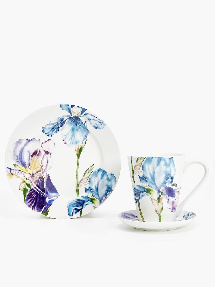 Set Porcelana Floral Zara Home