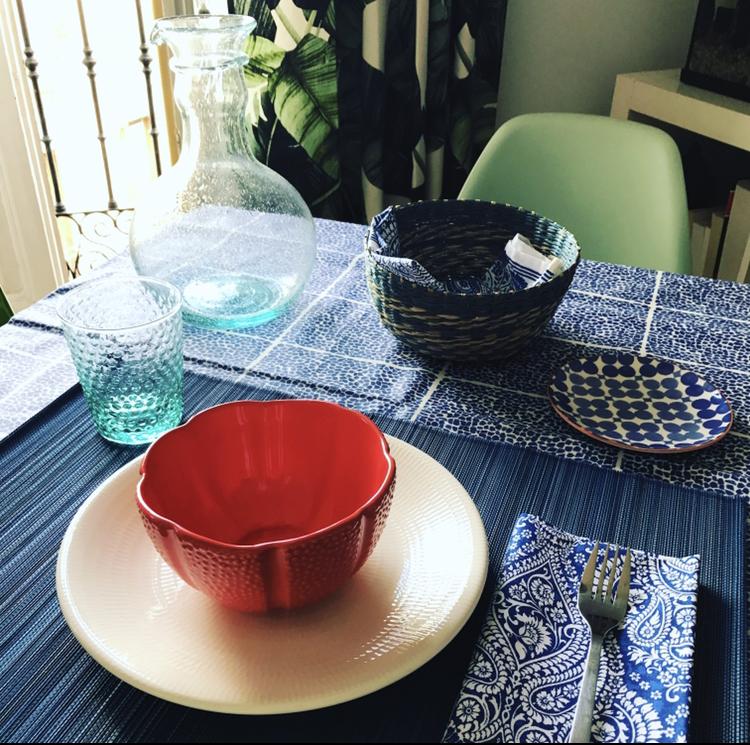 Mesas Frescas y Azuladas