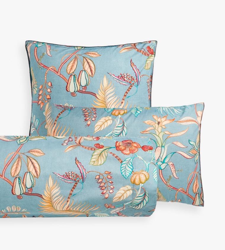 Funda Almohada Ramas y Flores Zara Home