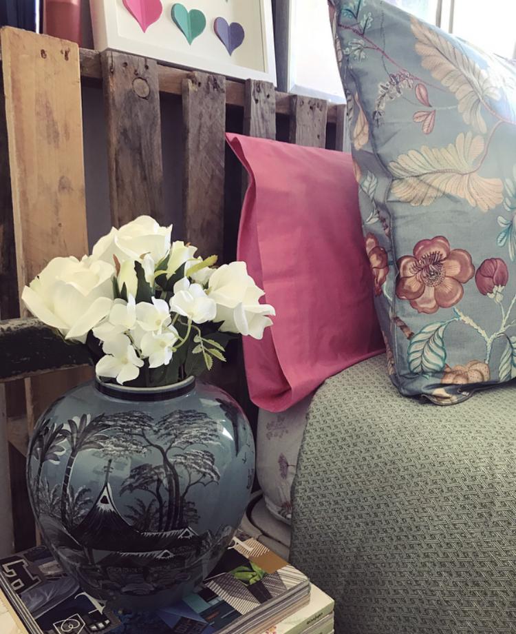 Detalles florales para nuestro dormitorio de Zara Home