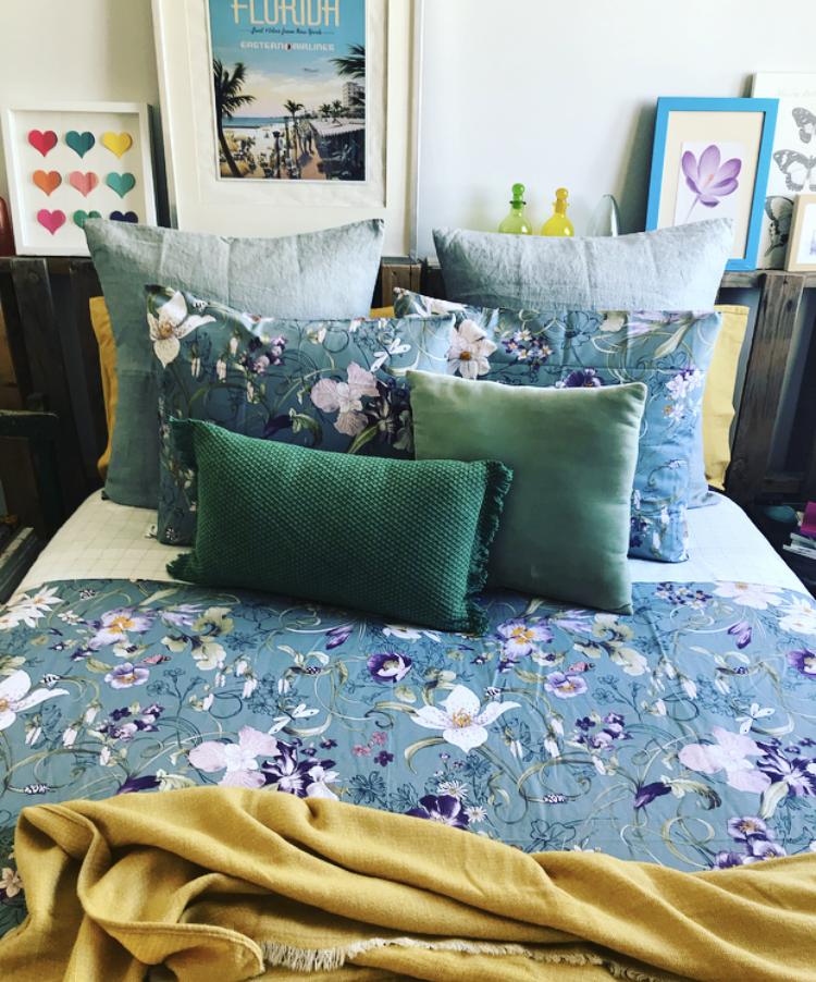 Un dormitorio primaveral - Zara Home