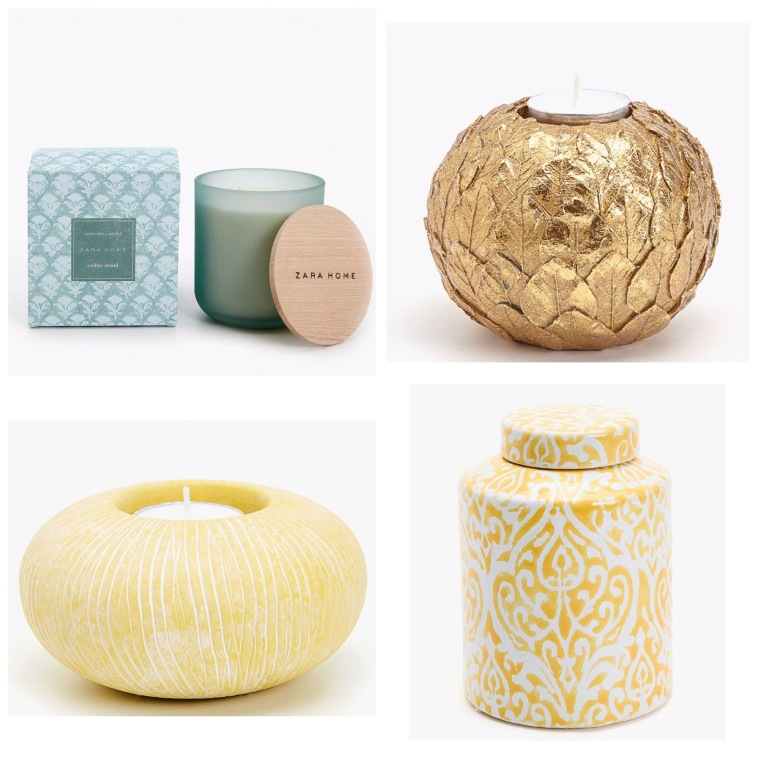Elementos Decorativos Zara Home
