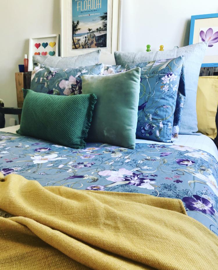 Motivos primaverales para tu dormitorio