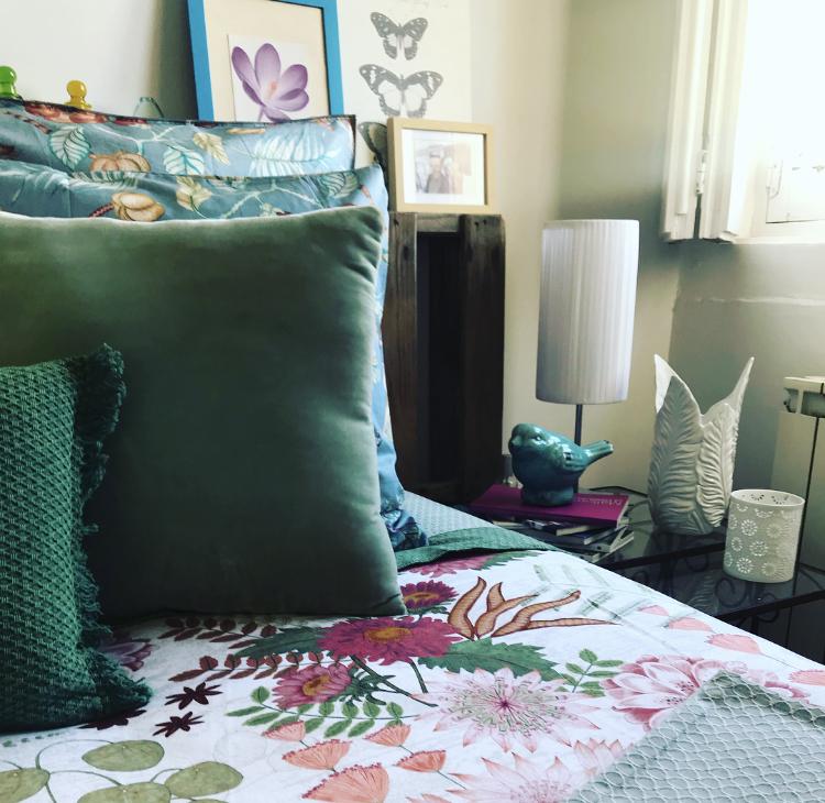 Detalles primaverales en nuestro dormitorio