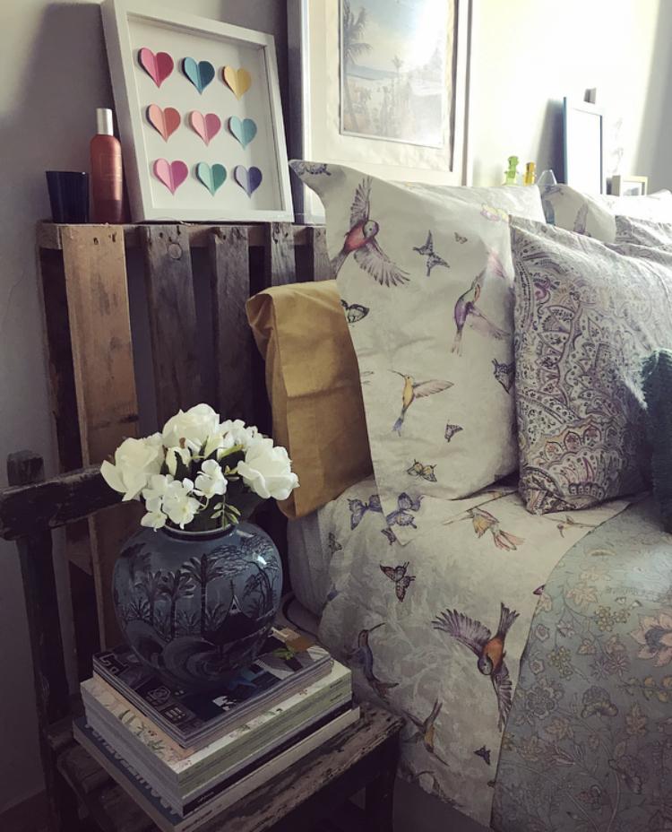 Dormitorios a todo color en primavera
