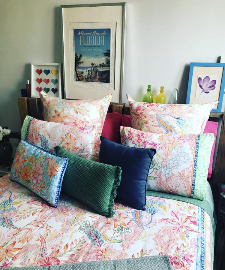 Sensaciones multicolor para el dormitorio