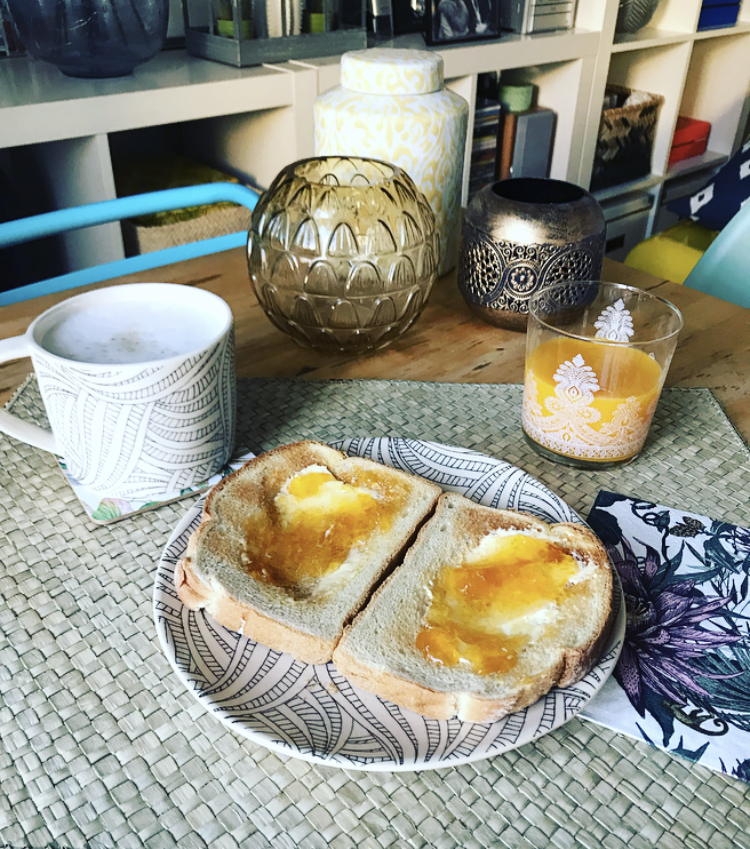 La coordinación en tu desayuno