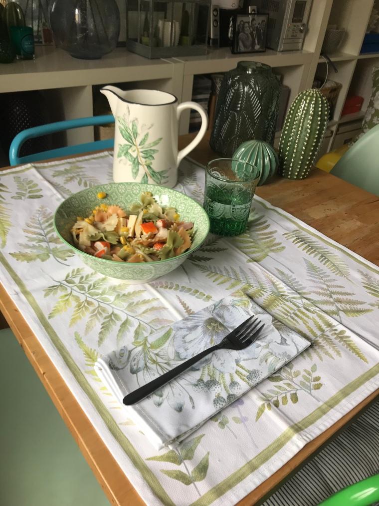 Textiles primaverales para tu mesa de Zara Home