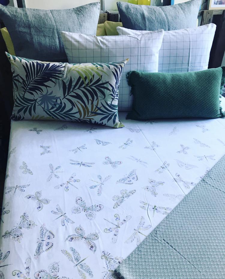 Funda nórdica estampado mariposas reversible - Zara Home