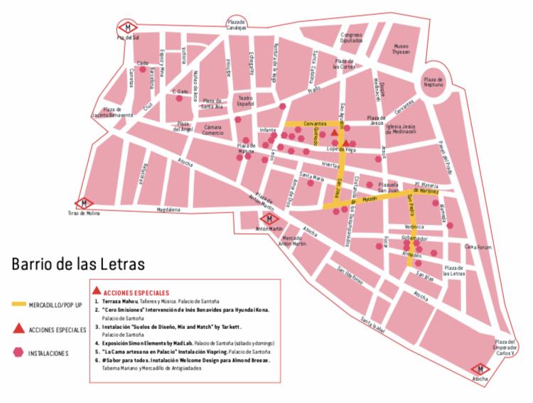 Decor Acción 2019 - Barrio de Las Letras