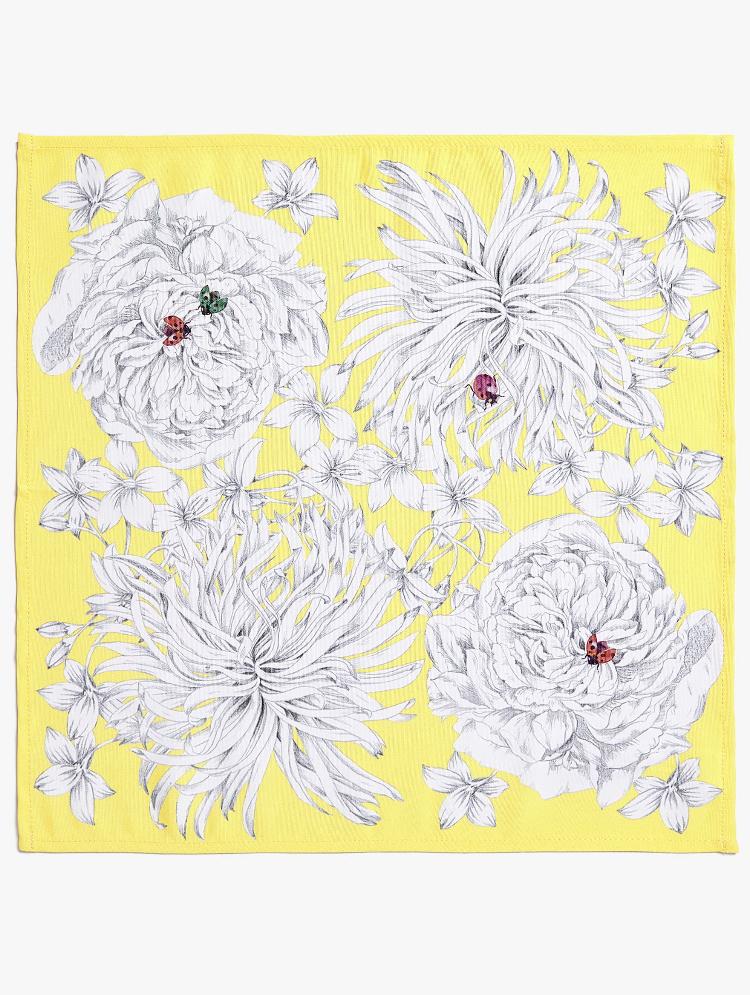 Servilleta Estampado Flores de Zara Home