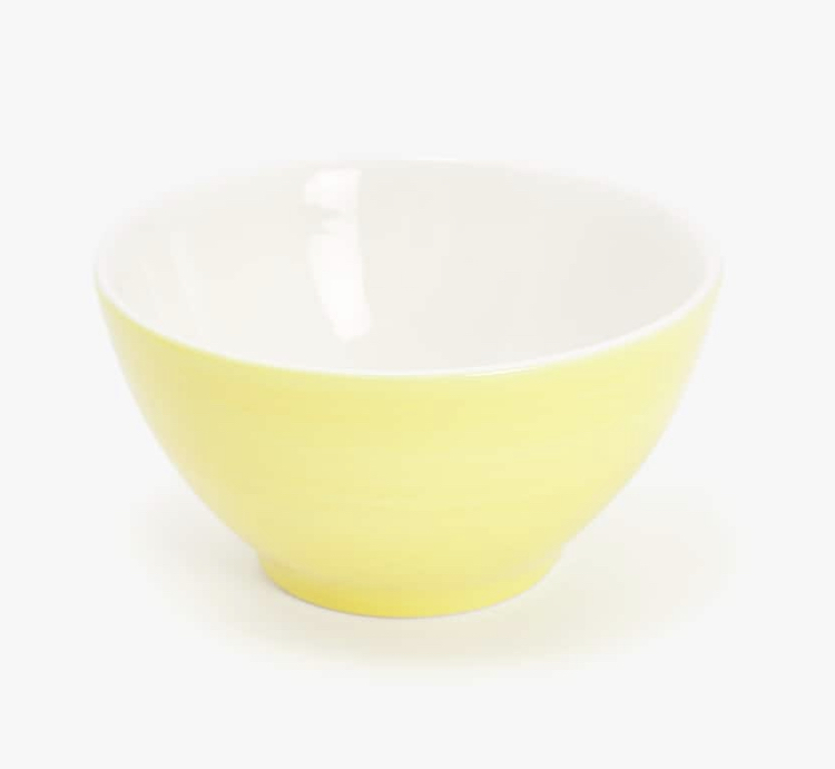 Bowl Amarillo Loza de Zara Home