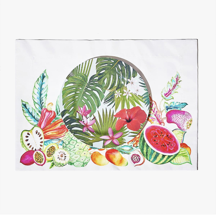 Estampados tropicales de Zara Home