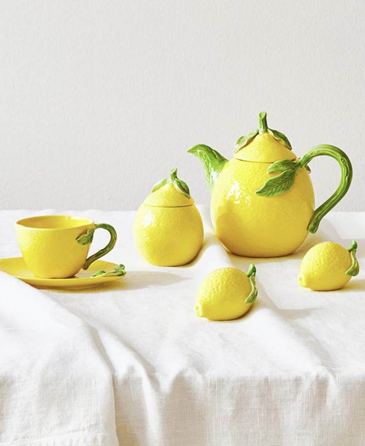 Set Menaje Limones de Zara Home