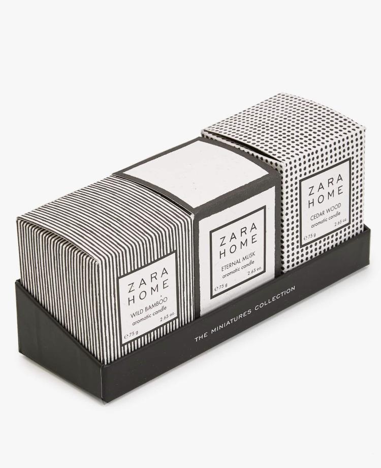 Minivelas Colección (Pack de 3) de Zara Home