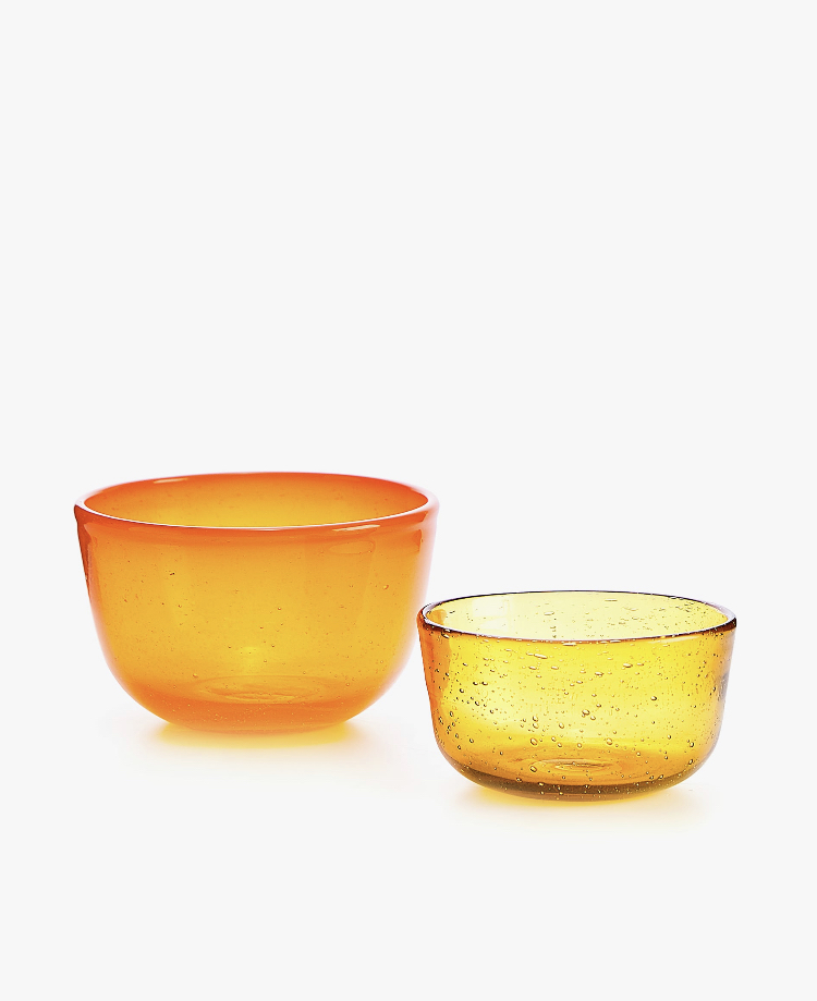 Bowl Vidrio Efecto Burbujas de Zara Home