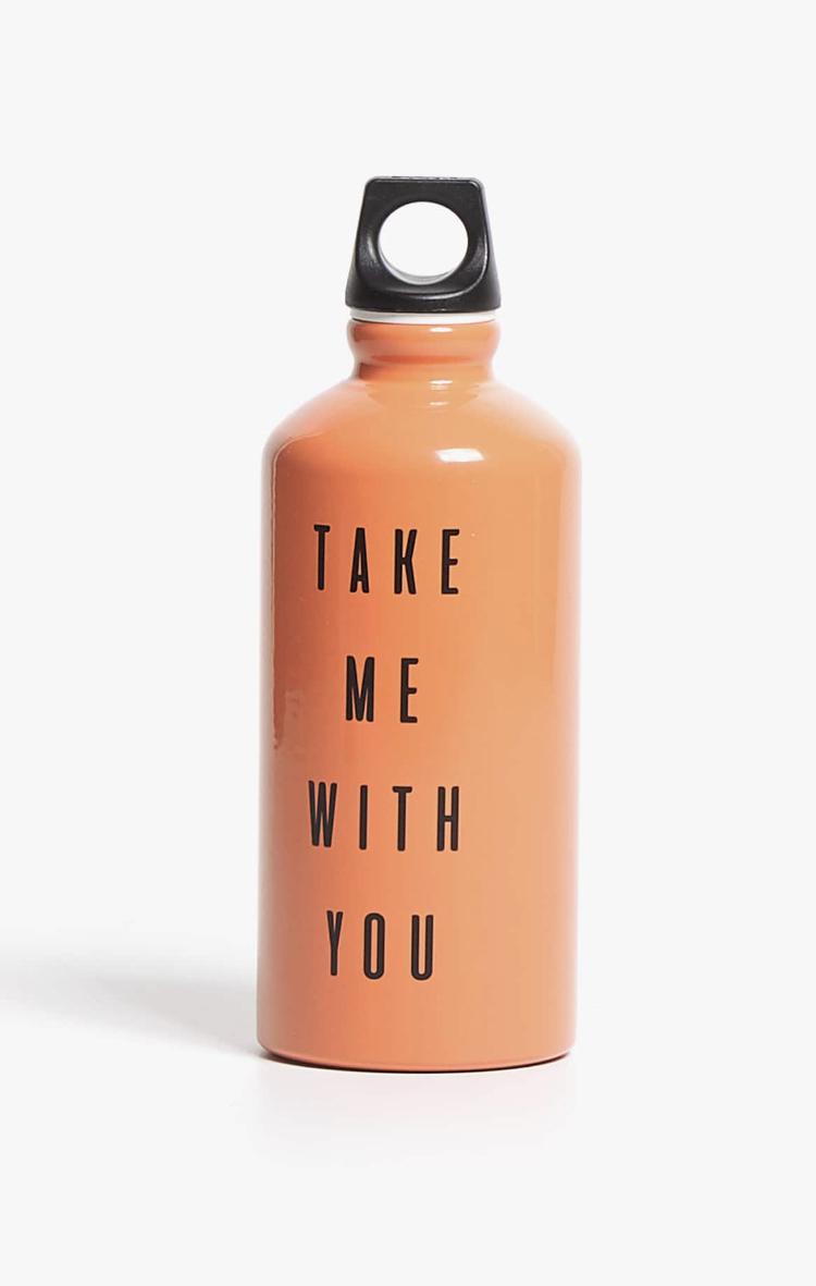 Botella con Mensaje de Zara Home