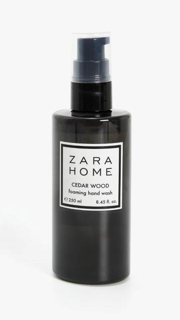 Jabón Espumoso Cedar Wood de Zara Home