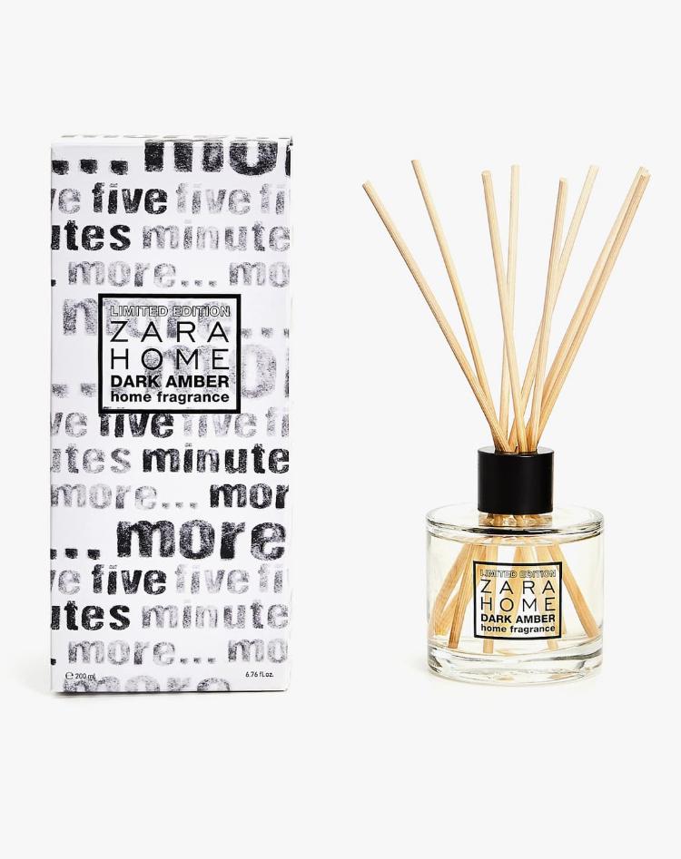 Ambientador en Sticks Dark Amber (Edición Limitada) de Zara Home