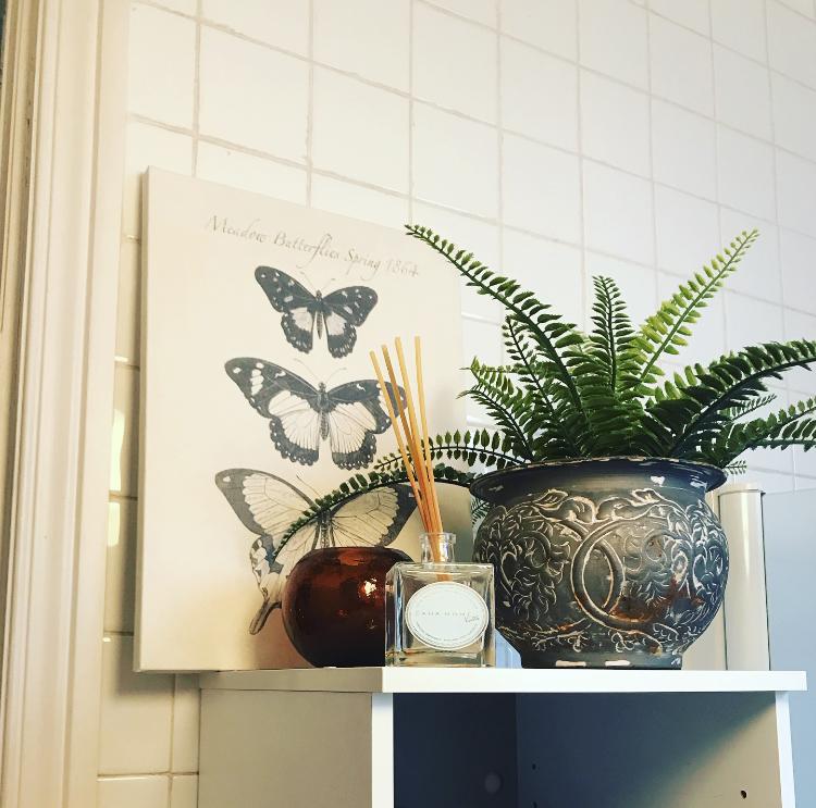 Elementos decorativos en el baño