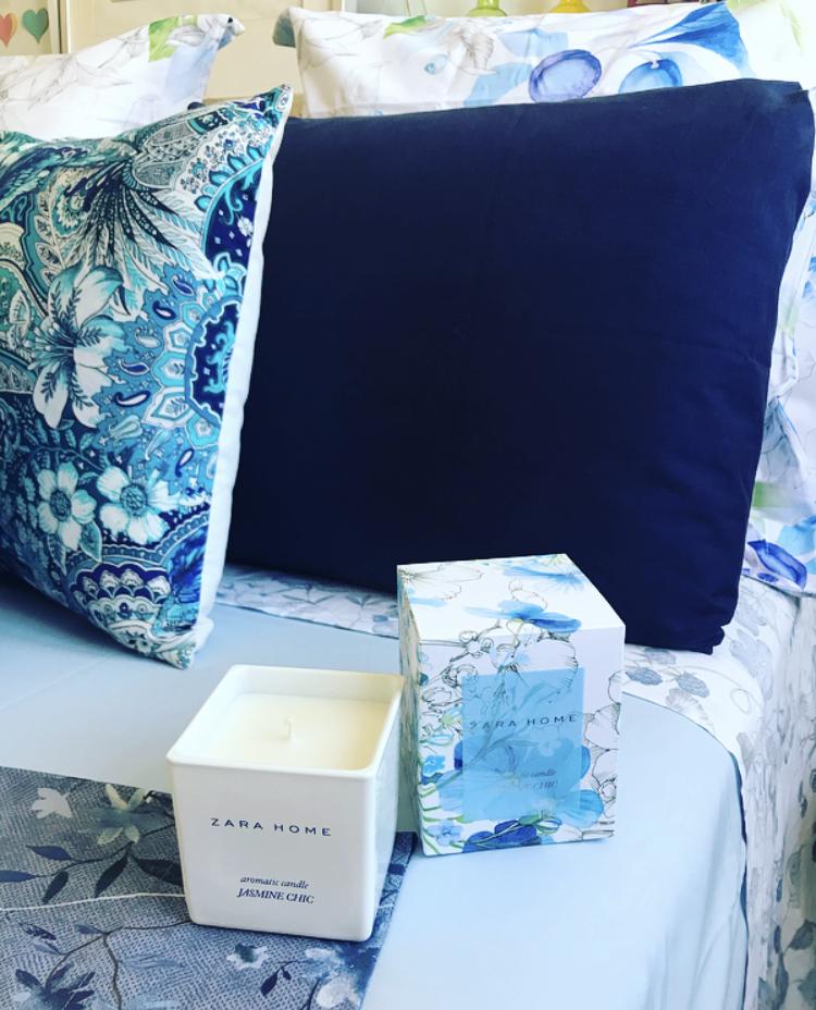 Selección de Estampados Azules de Zara Home