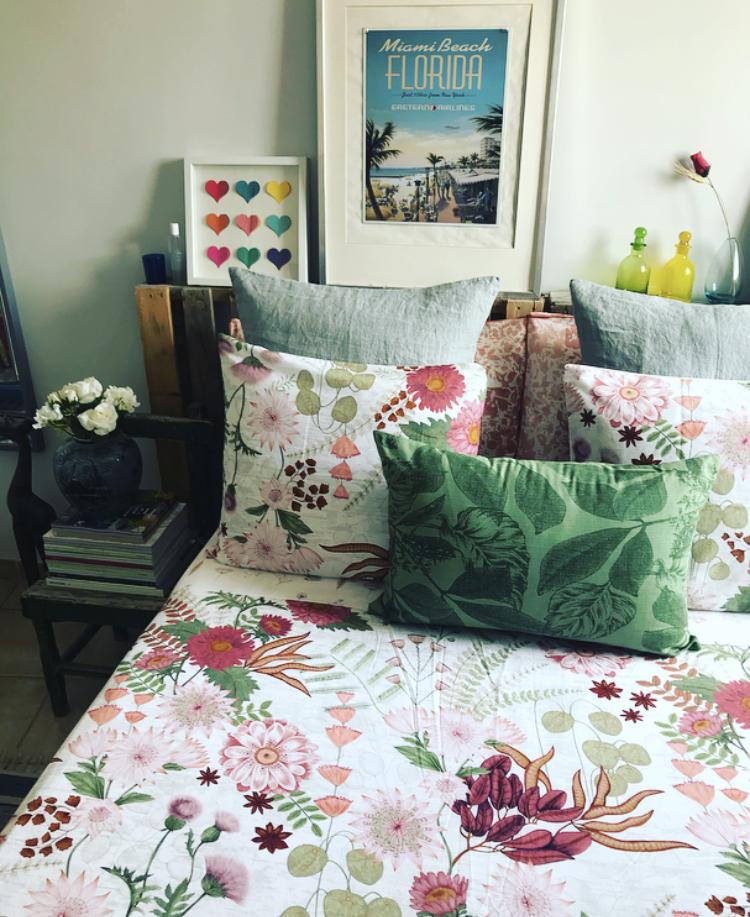 Estampado Floral en Nuestro Dormitorio