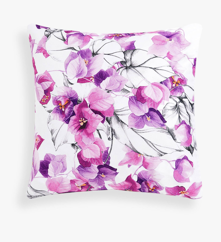Cojín Estampado Floral - Zara Home