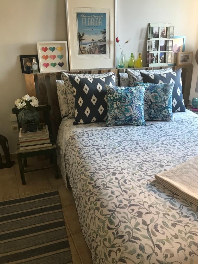 Coordinación Azul en el Dormitorio