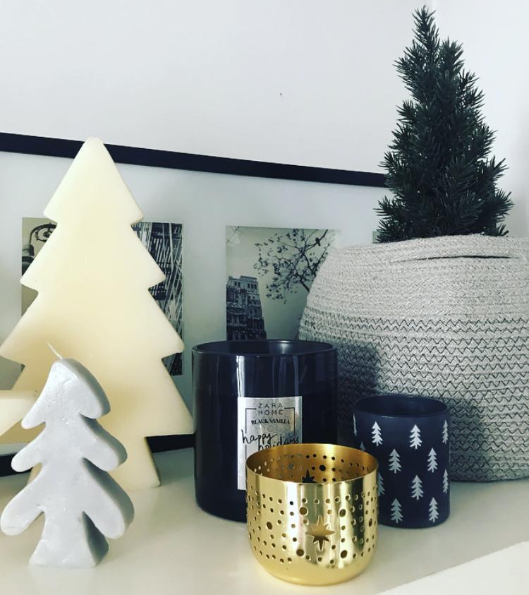 Velas y Portavelas navideños - Zara Home